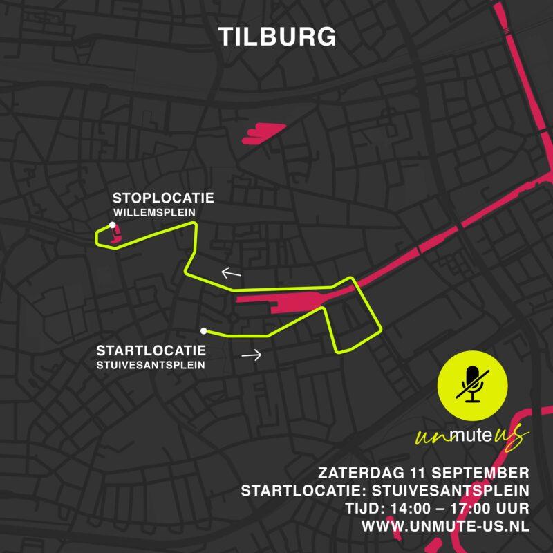 Route 11 sept 2021_UnmuteUs_Tilburg