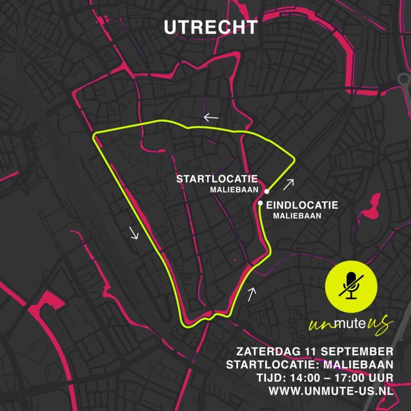 Route 11 sept 2021_UnmuteUs_Utrecht